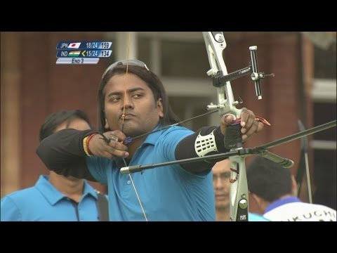 Japan Win Archery Team 1/8 Eliminations - London 2012 Olympics