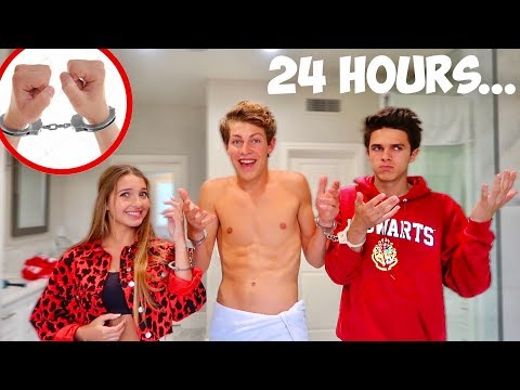 Handcuffed To Brent And Lexi For 24 Hours! (bad idea)