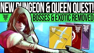 Video Destiny 2 | DUNGEON MODE & EXOTIC REMOVED! Queen Quest, Sleeper Changes, Secret Boss & Court Area! download MP3, 3GP, MP4, WEBM, AVI, FLV September 2018