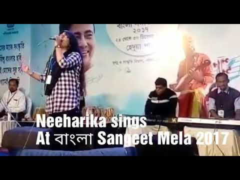 Title neeharika, daughter of NILANJAN Nandy, the music composer and vocalist Sings HOYTOH KICHHU