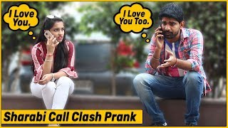 Sharabi Call Clash Prank on Cute Girls - Part #7 | The HunGama Films