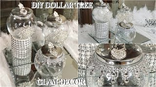 DIY DOLLAR TREE GLAM BATHROOM ACCESSORIES | DIY GLAM BATHROOM DECOR IDEAS