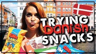 Δοκιμάζοντας Δανέζικα σνακ 🇩🇰 | SissyChristidou
