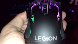 Lenovo Legion M200 - Unboxing & Rgb Setup