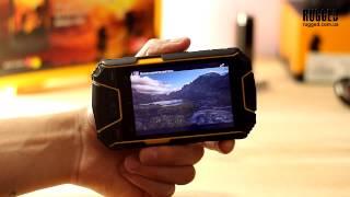 видео Обзор защищенного телефона Snopow M6