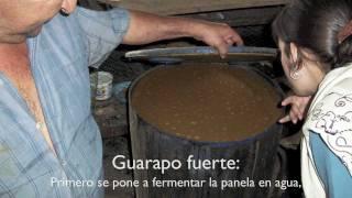 Elaboración artesanal del miche claro en San Pedro, Uribante