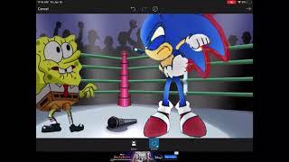 Spongebob VS Sonic Cover-Art (Cartoon Beatbox Battles)
