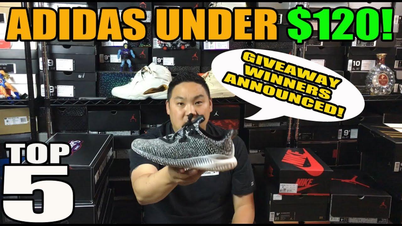 top 5 adidas scarpe in 120.su youtube