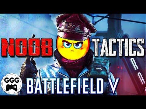 22 TOTAL NOOB TACTICS - Battlefield 5 (BF5) thumbnail