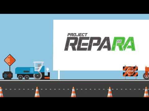 Video Sacyr Construcción. Project Repara 2.0