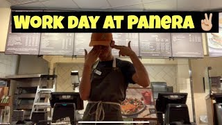 come with me to a work day at Panera