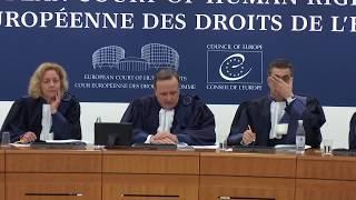 Alexei Navalny at the European Court of Human Rights | Навальный в ЕСПЧ (без перевода)