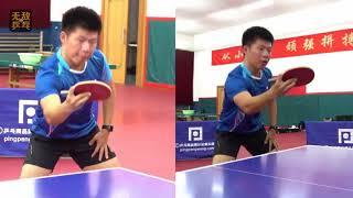 《无敌乒乓》第5集:直拍横打反手拨球技术