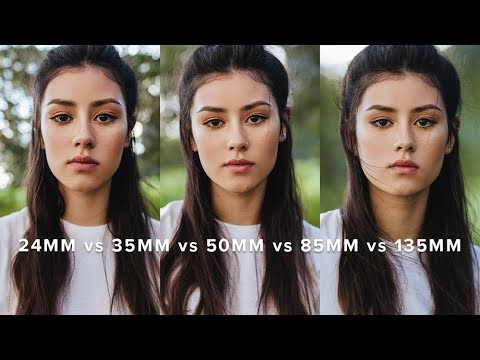 Primes Lens Comparison on Crop Frame! 24mm vs 35mm vs 50mm vs 85mm vs 135mm