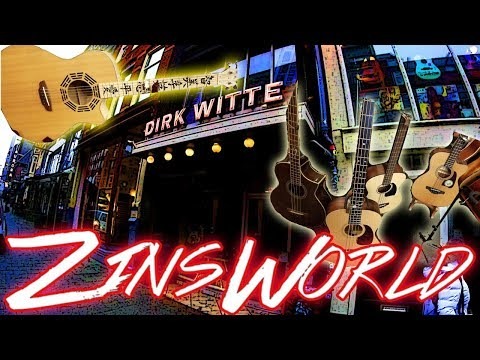ZinsWorld Vlog 073 * Tour of the Best Music Store in Amsterdam, Dirk Witte *