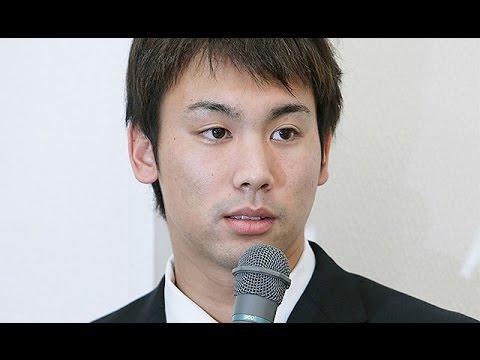 競泳、冨田選手「真実は違う」=会見で窃盗行為否定