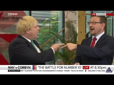 Boris Johnson & Andrew Gwynne Get into a fiery argument