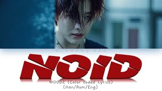 Gambar cover WOODZ (조승연) - NOID (Color Coded Lyrics Eng/Rom/Han/가사)