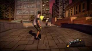 Tony Hawk Ride  New Controller GamePlay!!(HQ)