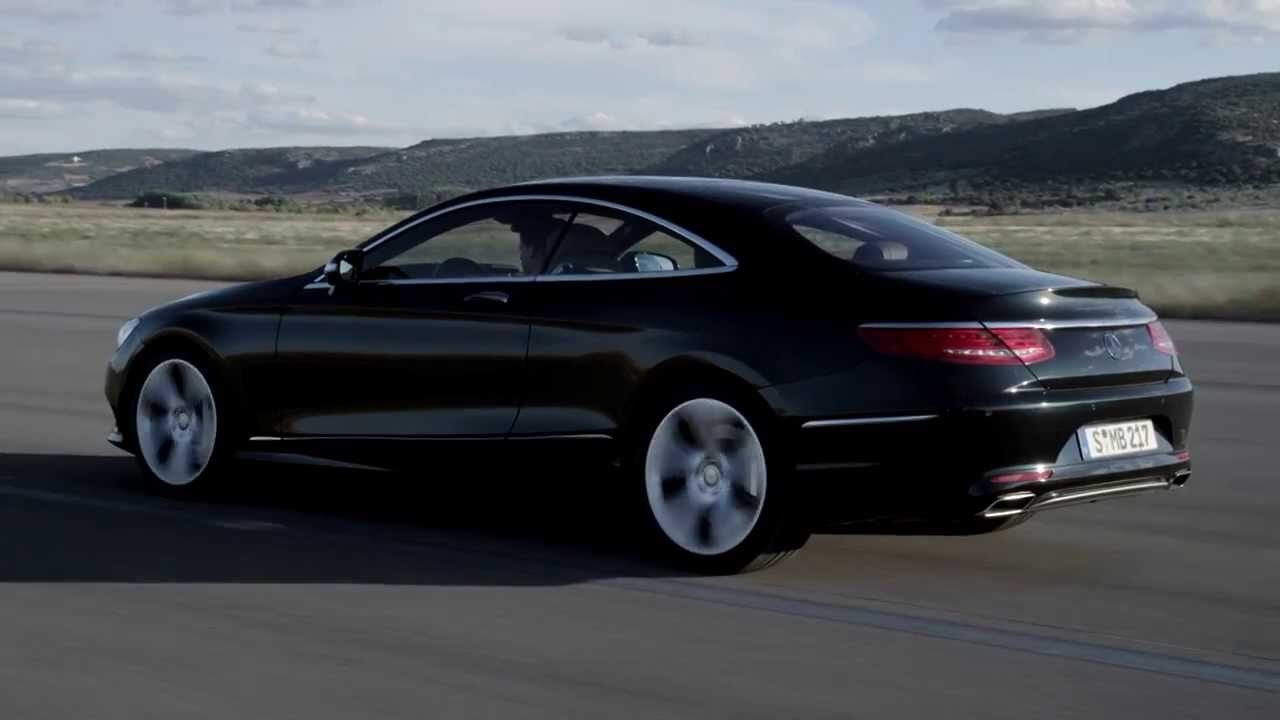 2014 mercedes s class coupe s500 driving footage youtube. Black Bedroom Furniture Sets. Home Design Ideas