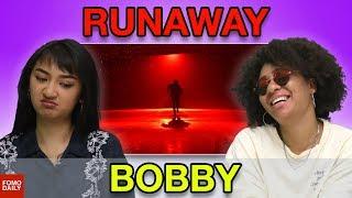 "Video BOBBY ""RUNAWAY"" • Fomo Daily Reacts download MP3, 3GP, MP4, WEBM, AVI, FLV Juli 2018"