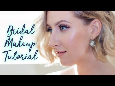 Classic Bridal Makeup  OILY SKIN FRIENDLY  Sharon Farrell