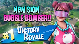 New Bubble Bomber Skin!! 13 Elims!! - Fortnite: Battle Royale Gameplay