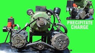 Making Air Compressor using Car parts