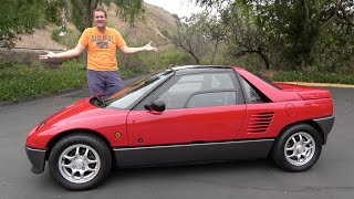 homepage tile video photo for The Autozam AZ-1 Is a Ridiculous, Tiny, Surprisingly Fun Sports Car