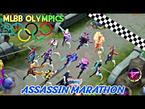 MOBILE LEGENDS OLYMPICS - MARATHON OF ASSASSIN • RUNNING WITH SKILLS TOURNAMENT