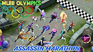 MOBILE LEGENDS OLYMPICS - MARATHON OF ASSASSIN • RUNNING WITH SKILLS TOURNAMENT