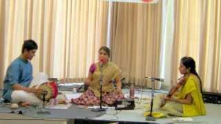 Maya Lakshmi Srinivasan - South Indian Classical (Carnatic) Vocal