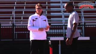 Arkansas Track and Field Presents Common Errors and Corrections Men's Hurdles