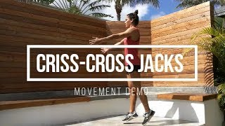 Criss-Cross Jumping Jacks // FIT Happy Hour Movement Demo