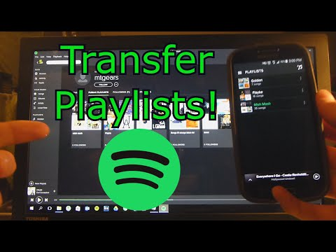 Copy Playlists between  Accounts!!