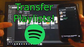 Copy Playlists between Spotify Accounts!!