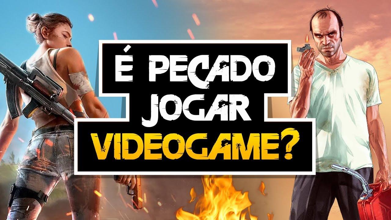 É PECADO JOGAR VIDEOGAME? FREE FIRE, GTA, RESIDENT EVIL E OUTROS?