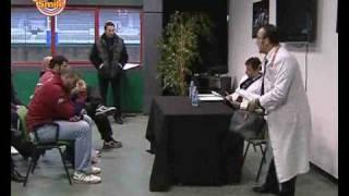 CAMERA SMILE - L'Aquila Rugby, Valerio Vicerè - L'antidoping