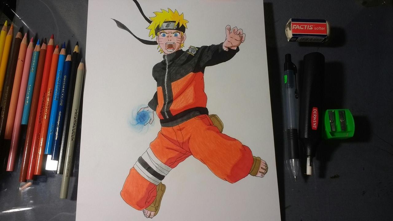 Como Dibujar A Naruto Uzumakishippudenpaso A Pasohow To Draw Naruto Uzumaki
