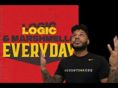 Marshmello & Logic - EVERYDAY (Reaction/Review) #Meamda