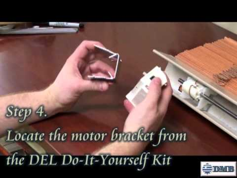 Motorized 2 wood blind battery operated do it yourself kit motorized 2 wood blind battery operated do it yourself kit installation video discount motorized blinds solutioingenieria Images