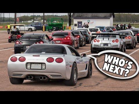 1200hp TURBO Corvette - GTR Killer!