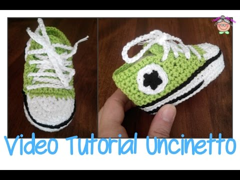 Tutorial Uncinetto Come Si Fa La Suola Delle Scarpine All Star