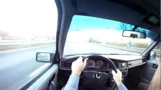 Mercedes W201 1.8 TURBO - daily drive - M102 + TURBO