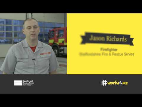 Effective maternity policy, Jason and Emma Richards, Firefighters, Staffordshire Fire and Rescue