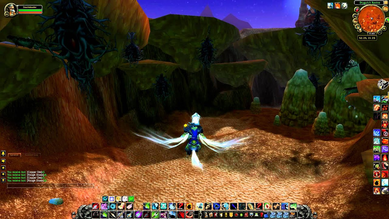 World of warcraft copper ore durotar horde youtube world of warcraft copper ore durotar horde malvernweather Choice Image
