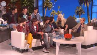 [Türkçe Altyazılı] Ellen Show // BTS Get Scared by a Fangirl