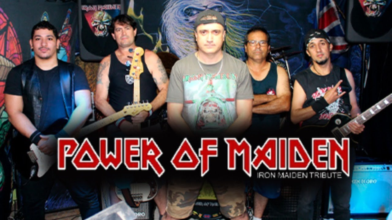 IRON MAIDEN LIVE - SANTO ROCK LIVE - POWER OF MAIDEN TRIBUTE - YouTube