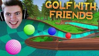 JOGANDO GOLF COLORIDO!!! - Golf With Friends
