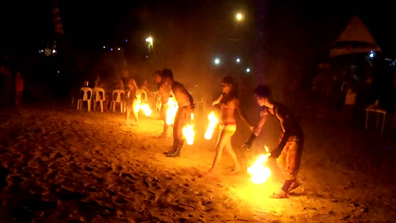 Sunset Beach Park Samal Davao Youtube